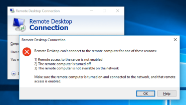 Windows RDP Fails to Connect | wrongtree info